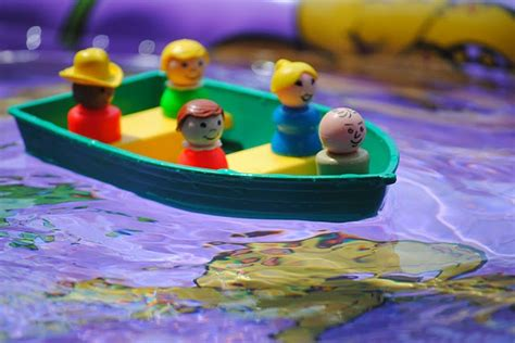 we re all in the same boat a bubble off center we re all in the same boat