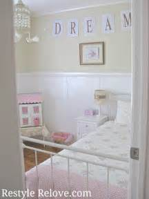 style my room little girls vintage bedroom