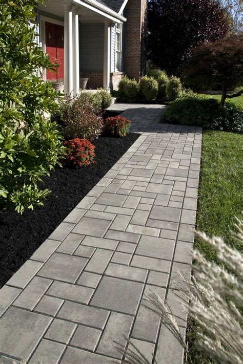 top 25 ideas about paver walkway on
