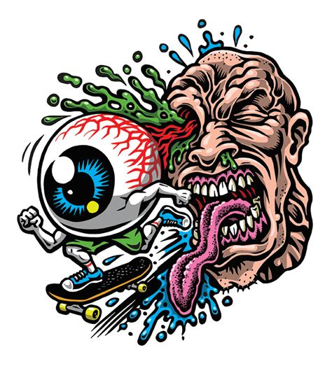 Lp Kaos T Shirt Skateboard High Quality Lp eye skate sticker color silkscreened clear vinyl