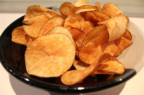 Handmade Crisps - healthy potato chips gf the healthy hubby