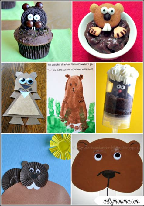 groundhog day ideas and easy groundhog day crafts for make a paper
