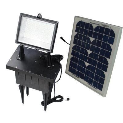 Solar Goes Green Solar Super Bright Black Outdoor 108 Led Bright Solar Flood Lights