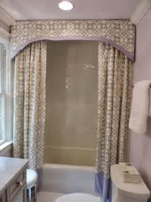 Shower Valance by Birds Of A Feather Vintage Glam Before And After