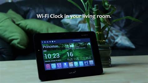 creek wi fi smart clock   kickstarter
