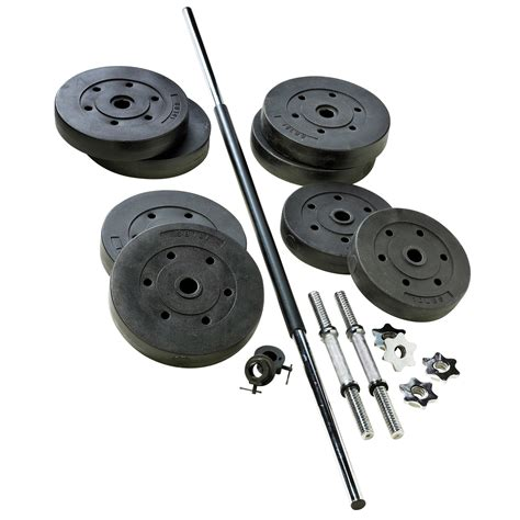 weider vsh1102p s 110 lb vinyl weight set sears outlet