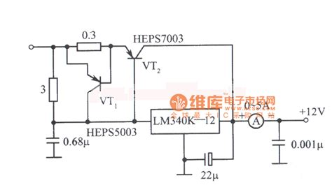integrated circuit ic voltage regulators 12v 5a power supply circuit diagram composed of lm340k integrated voltage regulator power