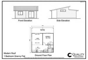 Floor Plan For 1 Bedroom House by 25 Genius Granny Flat Floor Plans 1 Bedroom House Plans