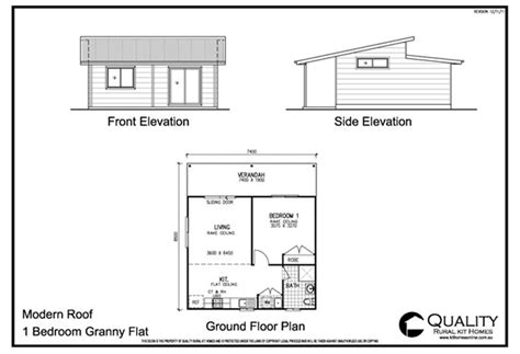 1 bedroom granny flat floor plans meadow lea 1 bedroom granny flat kit home kit homes online