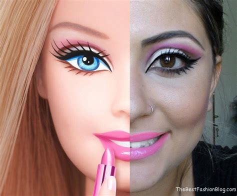 fashion doll makeup makeup
