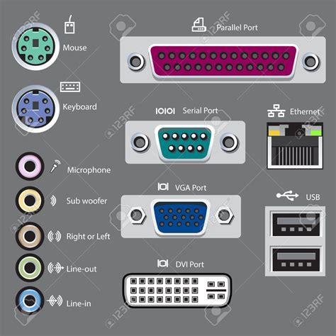 porte computer computer port symbols usb