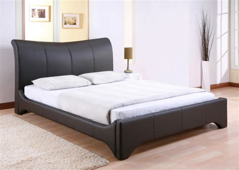 queen size bed frame storage free modern leather queen