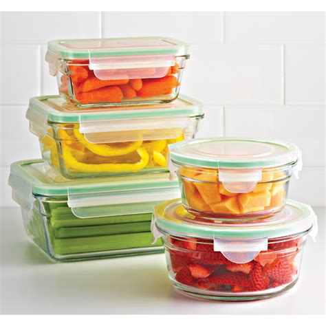 glass storage containers with locking lids glasslock food containers with lids the container