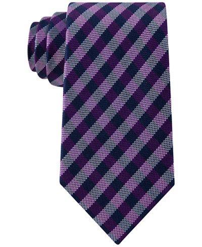 club room ties club room s gingham tie only at macy s ties pocket squares macy s