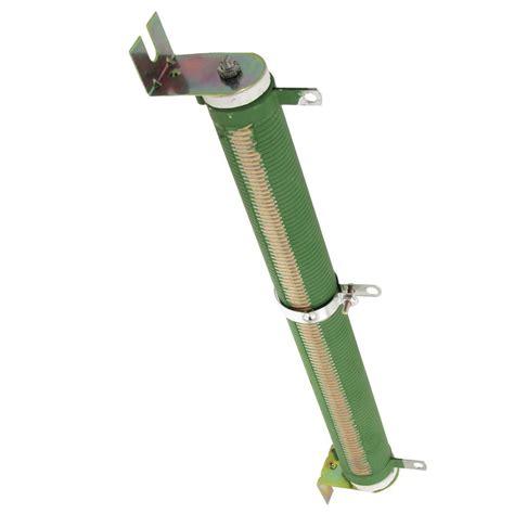 adjustable ceramic resistor 200w watt 100 ohm ceramic adjustable rheostat resistor green 14q4 ebay