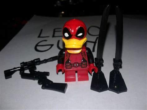 Deadpool Gunshot Lego Bootleg Kws Limited custom duckpool deadpool lego minifigure toys in national city ca