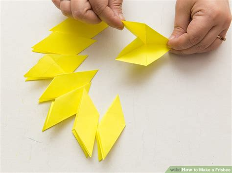 Origami Frisbee - origami frisbee step by tutorial origami handmade