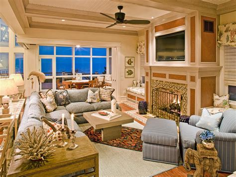 coastal living home decor coastal living room ideas living room and dining room decorating ideas and design hgtv