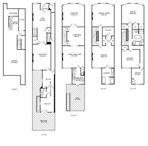 bed and breakfast floor plans bed and breakfast townhouse in harlem asks 2 9 million on the market curbed ny floor