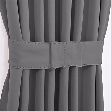 french door curtains blackout nicetown grey french door curtains blackout patio door
