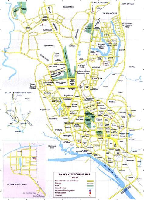 dhaka map  dhaka satellite image