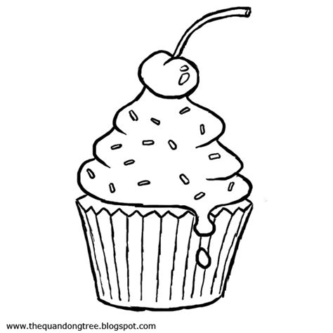 coloring pages free cupcake cupcake coloring page coloring pages trees
