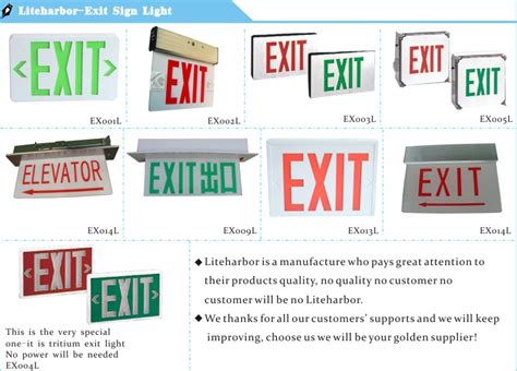 running board emergency lights led exit lighting kits running emergency exit sign