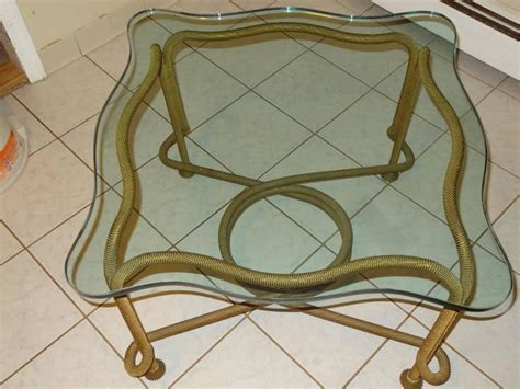 beaded table l beaded rope table for sale at 1stdibs
