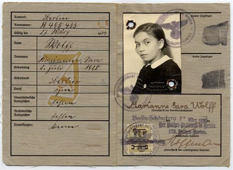 printable holocaust id cards online exhibition united states holocaust memorial museum