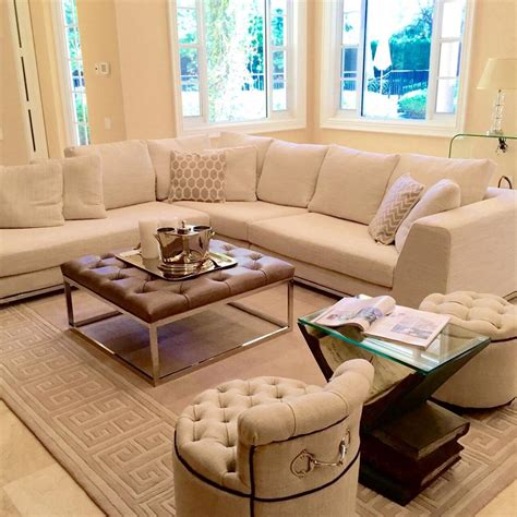 leather cushion coffee table davenham modern grey distressed leather tuft cushion