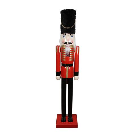 cheap huggit tree wraps christmas solders northlight 60 in and black wooden nutcracker soldier 32258302 the home depot