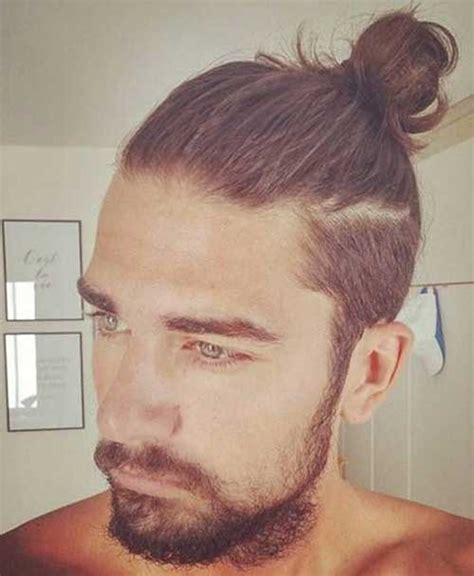 how to grow a manbun with shaved sides trendy mens haircuts 2016 mens hairstyles 2018