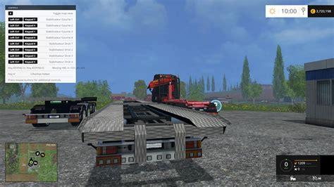 lantmannen volvo hkl  truck  crane  farming simulator   mod