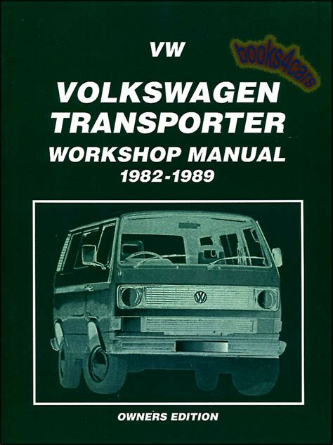 vanagon shop manual service repair book vw westfalia camper transporter haynes ebay