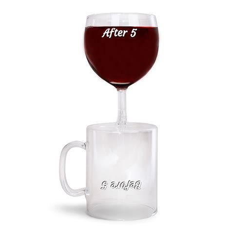 After 5 Barware With Flair by Before And After 5 Glass Buy From Prezzybox