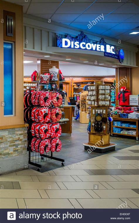 neck pillow display at gift shop vancouver airport yvr