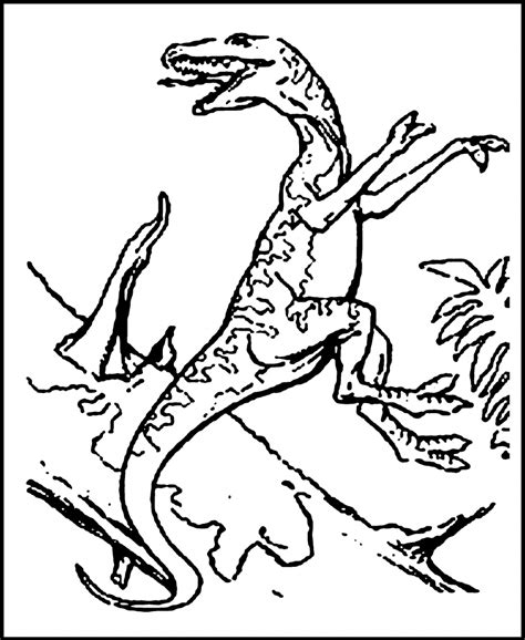 free volcano with dinosaur coloring pages