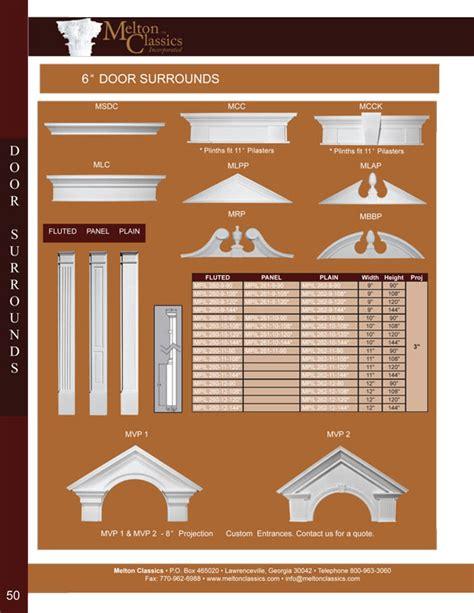 Architectural Pediment Design Architectural Urethane Polyurethane Door Surrounds Designs