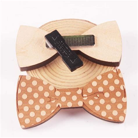 Wooden Handmade Gifts - wooden handmade bow tie s gifts fashion handmade
