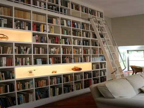 tiny library small home library interior design