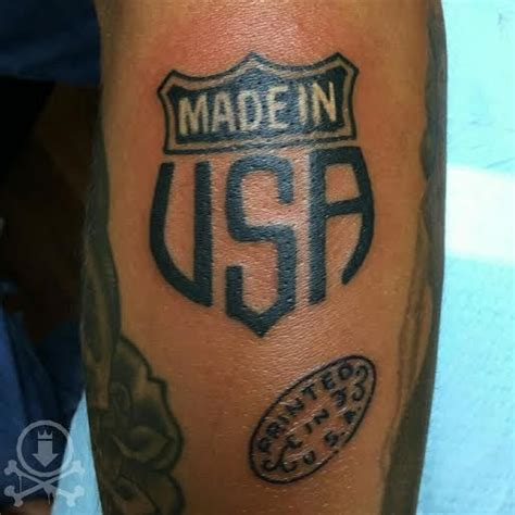 made in the usa tattoo 25 best ideas about usa on skyline