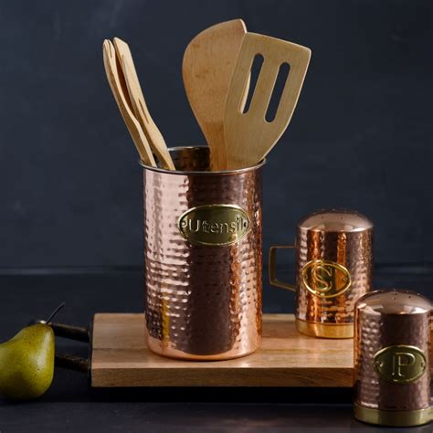 Copper Kitchen Utensil Holder by 218 Best Images About Hostessing Entertaining On