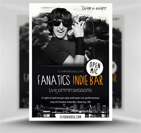 bar flyer templates free 30 amazing free flyer templates from flyerheroes extras