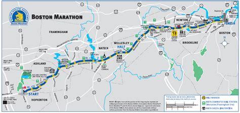 boston marathon route map to qualify for the boston marathon