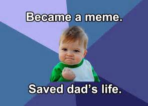 Success Kid Memes - success kid meme star crowdfunds his dad s kidney