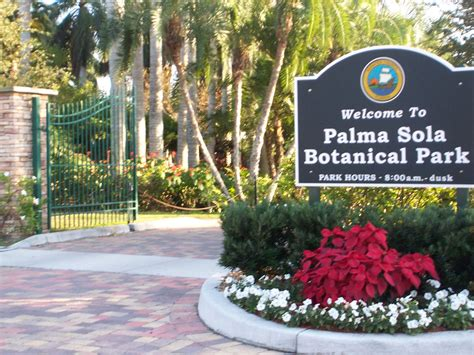 Palma Sola Botanical Gardens Island Palma Sola Botanical Gardens Is Just Minutes From Island