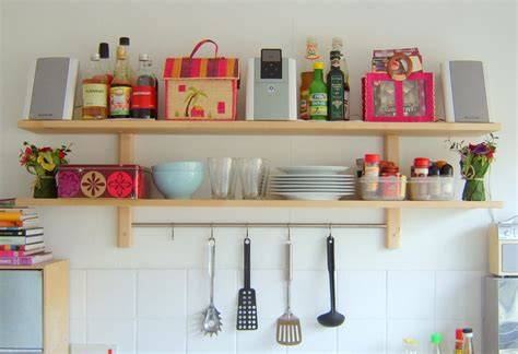 small shelves for kitchen 10 organization and storage hacks for your tiny kitchen