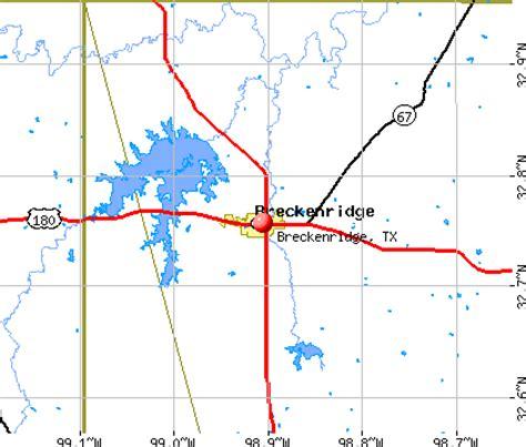 breckenridge texas map breckenridge texas tx 76424 profile population maps real estate averages homes