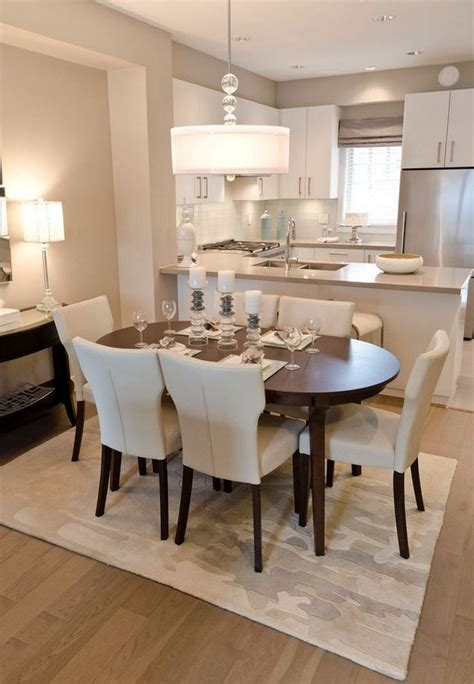 kitchen dining living room combo small tips