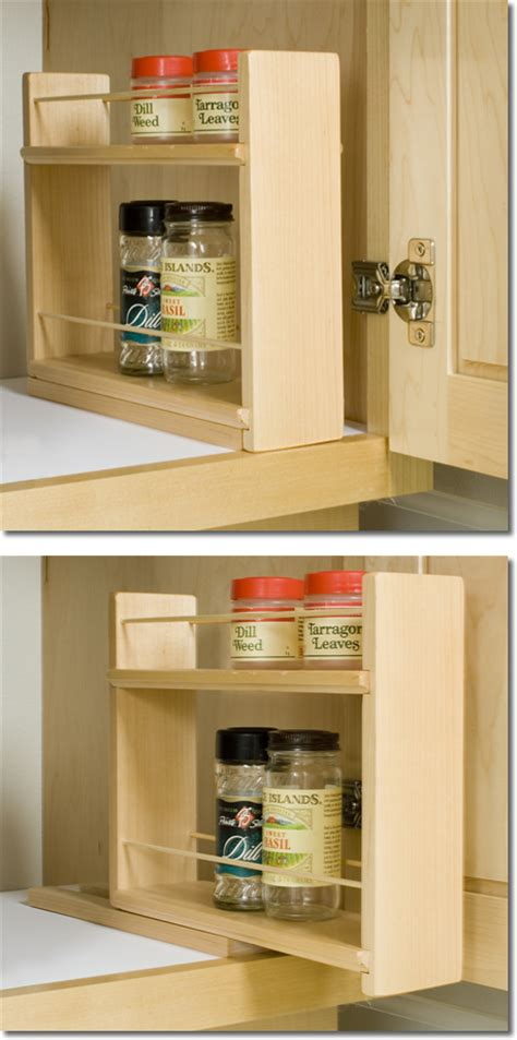 inside cabinet spice rack wooden spice racks by tumbleweed woodworks